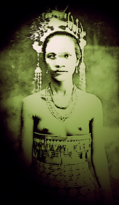 Noble woman from Tak province, Thailand
