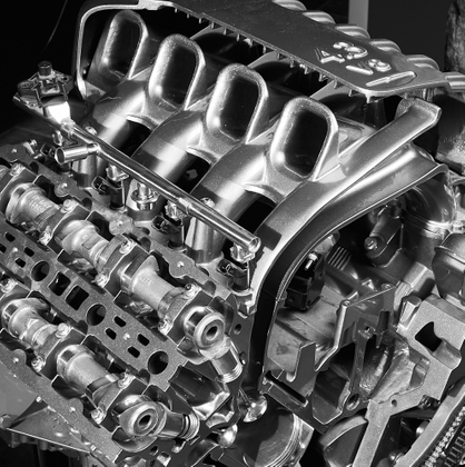V8 engine and its workings