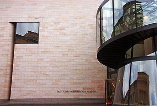 Berlin-Deutsches Historisches Museum- I.M.Pei Bau, realizzato dall'architetto contemporaneo sino-americano Ieoh Ming Pei.