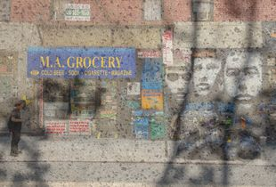 M.A. Grocery, NYC; from series, Traces