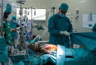 Salam Centre for Cardiac Surgery, 1