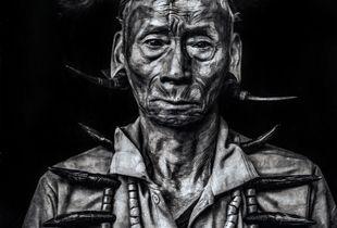 Naga Konyak Warrior.