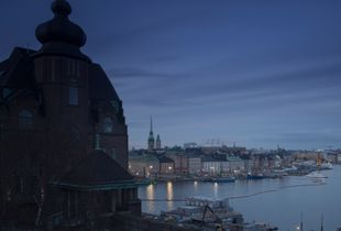 A view of Stockholm