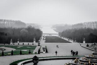 Versailles sous la brume