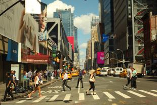 Fleeting Street composition