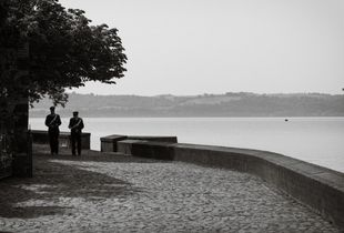 Trevignano Romano, on the shores of Lake of Bracciano (RM,) April 2013