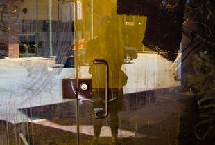 Self Portrait, San Antonio Empty Storefront