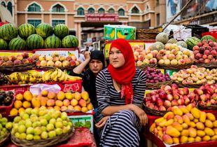 Xinjiang young girl
