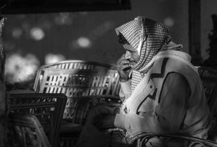 Beduin man