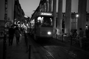 Nightlife from San Lorenzo's columns
