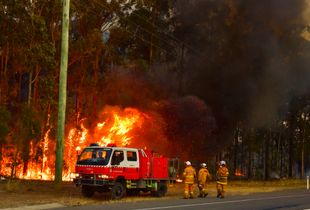 Bushfire Breaks Out Threatening Life and Property