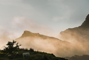 Early morning in Snowdonia