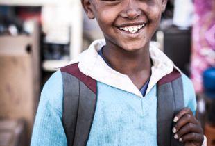 Unexpected Smile in Ethiopia.
