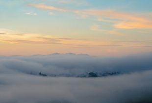 My village under the mist
