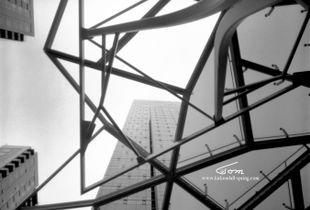 Amazon Building Seattle. John Engelman 4x5 camera