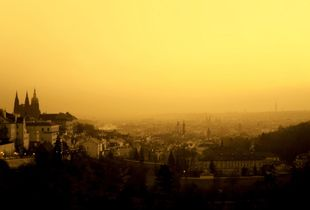 Dawn in Praha