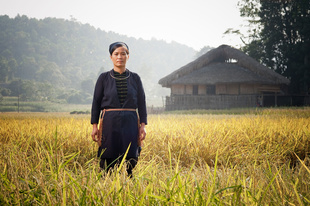Tay lady in Ha Giang Province