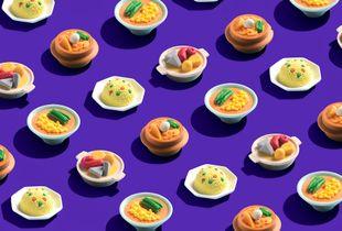 Eraser food
