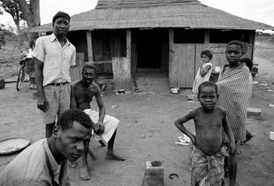 Habitantes de vila I Inhaminga