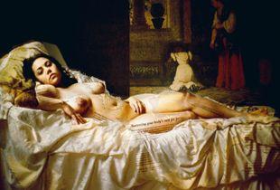 Self-Portrait as Venus of Urbino