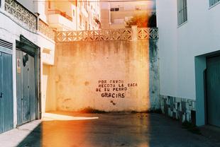 Caca Con Paraiso - A Polite Reminder