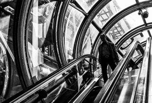 The Man on the Escalator