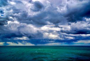 storm offshore Monte Leon National Park