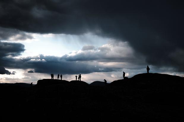 Beneath Dark Clouds