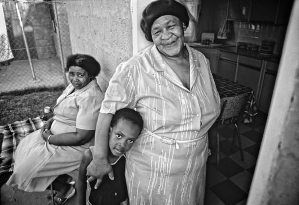 Grandmother, Orange Farm, RSA