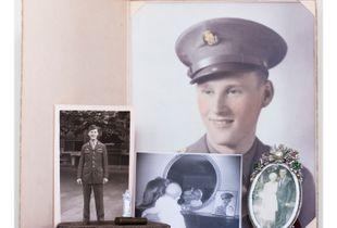 Raymond Bradley Portrait, Going to War.