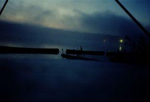 Dahme lake at dawn