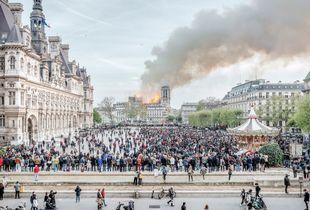 Notre-Dame de Paris, 15th April 2019