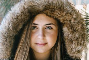 Northern winter girl