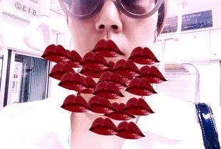 lip1 - self portrait