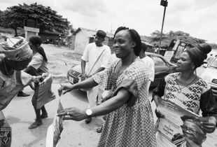 Aunty Iyabo, Dancing