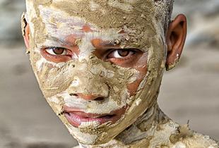 Mud drying