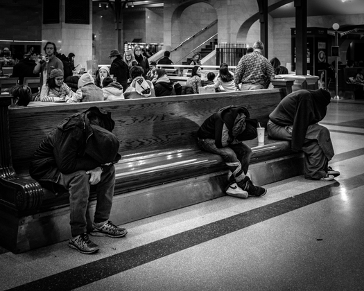 Opiates at Grand Central