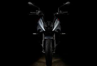 2020 Suzuki Katana Front - Silver