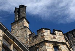University of Wisconsin-Milwaukee Alumni House chimney.