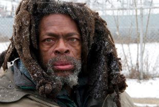 © Nicholas Gregory.    Michael was Detroit's most prominent panhandler. He was killed in a hit and run car accident last summer on the streets of Detroit.