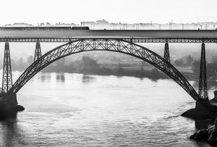 The train on the bridge at 7:30 AM
