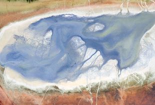 phosphor tailing pond 1