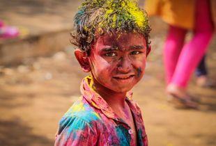 Boy In colors