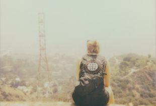Overlooking the LA Hills