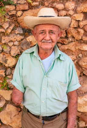 old man, Trinidad / cuba