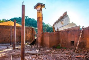 ruins ... destruction ... anger