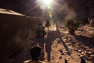 Young Bedouin Guides, Petra