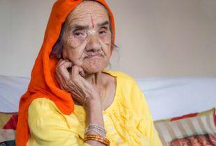 Bhutanese grandmother, Concord, NH
