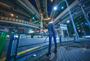 Under the junction
