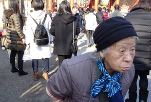The 1st day of her year starts from Asakusa.Her annual action